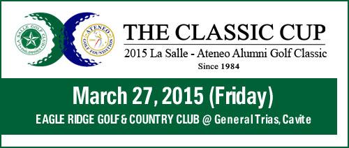 2015 La Salle - Ateneo Alumni Golf Classic Cup